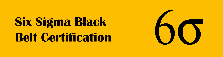Six Sigma Black Belt Training Certification Berry Infotech